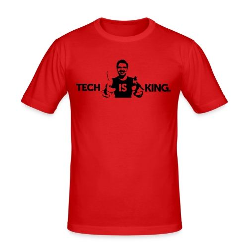 Tech Is King 2 - Men's Slim Fit T-Shirt