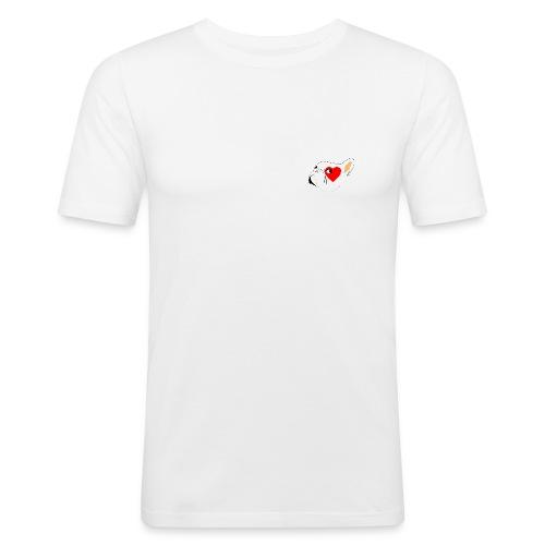 Bouli Blanc - T-shirt près du corps Homme