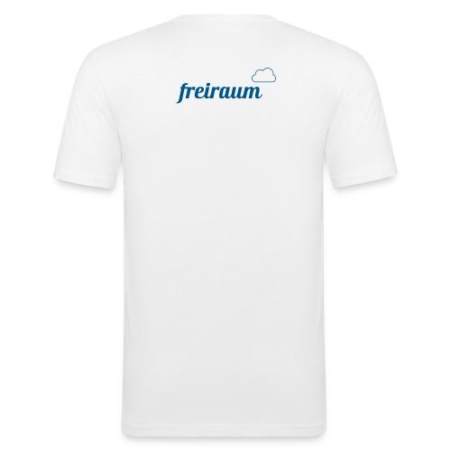 FREIRAUM-Yoga-Wear, damit macht Yoga einfach Spaß! - Männer Slim Fit T-Shirt