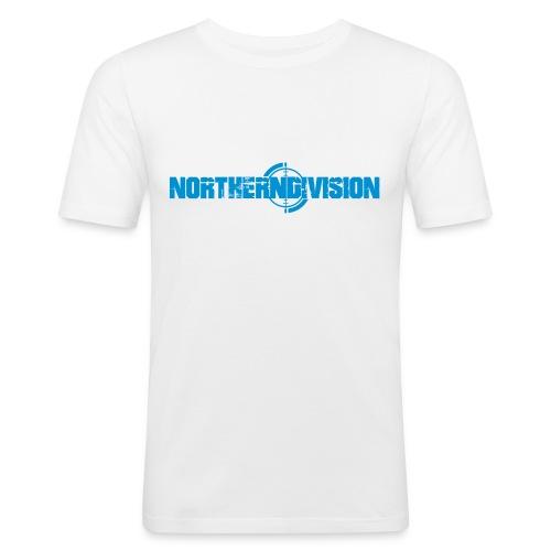 NORTHERNDIVISION_CROSSHAI - Miesten tyköistuva t-paita