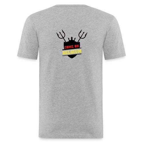 Come On Belgium - T-shirt près du corps Homme
