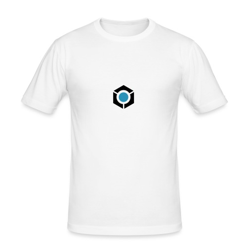 vektor blue tunes sign logo fh 10 - Men's Slim Fit T-Shirt