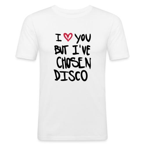 I love you but disco... - Männer Slim Fit T-Shirt