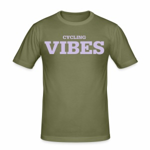 Cycling Vibes - Männer Slim Fit T-Shirt