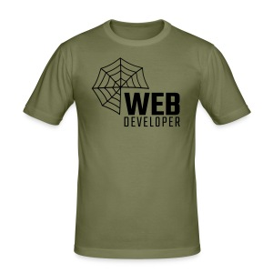 Web developer - Men's Slim Fit T-Shirt