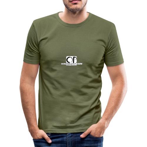 outbreakplays official OP logo - Men's Slim Fit T-Shirt