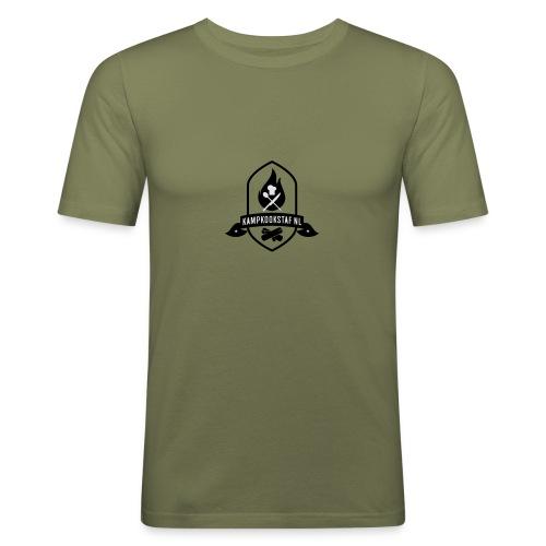KampKookStaf kader - slim fit T-shirt