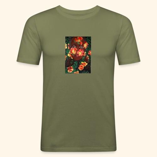 California poppy - Miesten tyköistuva t-paita