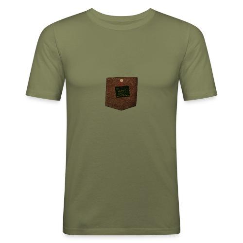 abzeichen - Männer Slim Fit T-Shirt