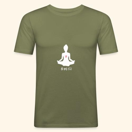OMG Om - Men's Slim Fit T-Shirt