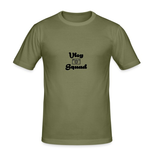 Vlog Squad - Men's Slim Fit T-Shirt