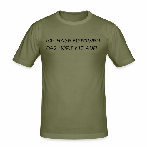 MEERWEH - Männer Slim Fit T-Shirt