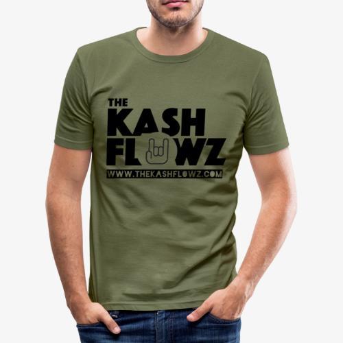 The Kash Flowz Official Web Site Black - T-shirt près du corps Homme
