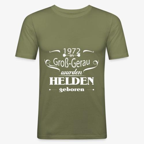 Gross Gerau 1972 - Männer Slim Fit T-Shirt