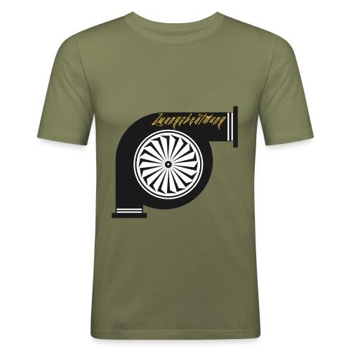 zwangsbeatmung - Männer Slim Fit T-Shirt