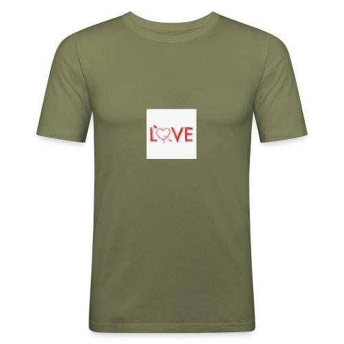 2DgfpAQ6 - Maglietta aderente da uomo