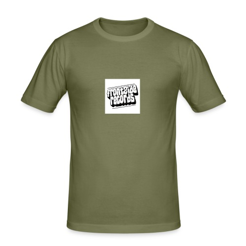 newfrontzidelogo - Herre Slim Fit T-Shirt