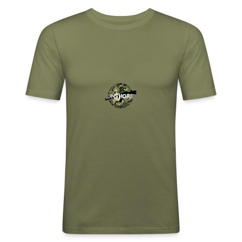 LOGO ONSHORE CAMO - T-shirt près du corps Homme