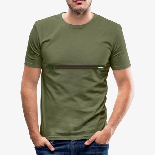 brate.style - Männer Slim Fit T-Shirt