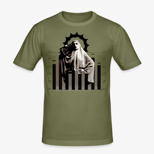 Sound System - Men's Slim Fit T-Shirt