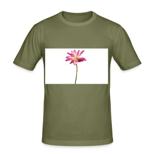 cutout-lotus-country-white-background-158767 - Slim Fit T-shirt herr