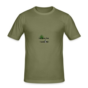 Greenkush Counter Strike style - Slim Fit T-shirt herr