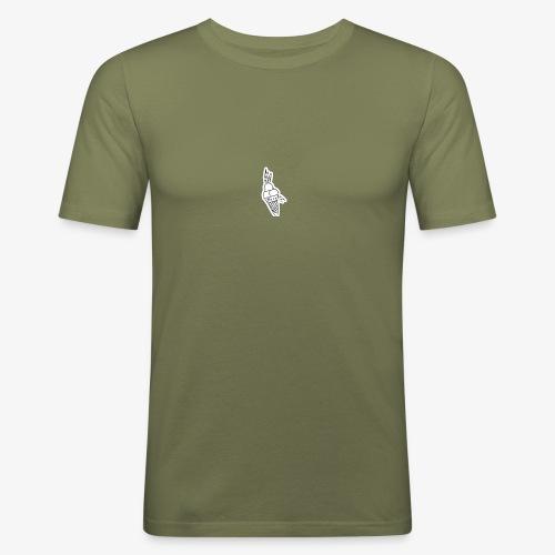 STRIPES ICE CREAM - Men's Slim Fit T-Shirt