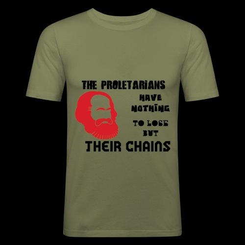 Karl Marx - Camiseta ajustada hombre