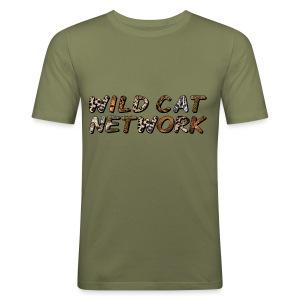 WildCatNetwork 1 - Männer Slim Fit T-Shirt