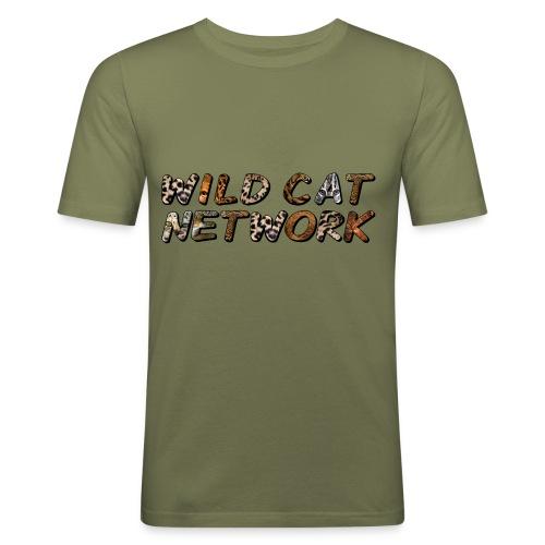 WildCatNetwork 1 - Men's Slim Fit T-Shirt