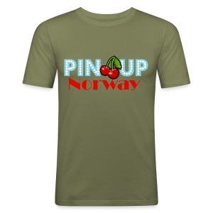 Pinup Norway - Slim Fit T-skjorte for menn