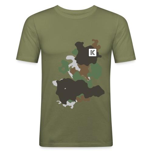 Original Kuster Camo Edition - Männer Slim Fit T-Shirt