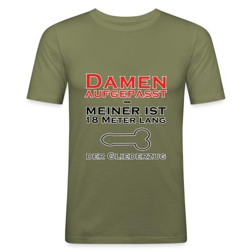 Damen aufgepasst - Männer Slim Fit T-Shirt