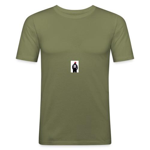 motyw - Obcisła koszulka męska