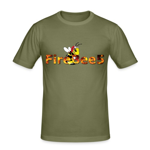 FireBee5 - Comic-Style - Männer Slim Fit T-Shirt