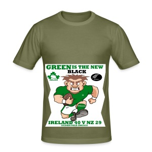 GREEN IS THE NEW BLACK !! - Men's Slim Fit T-Shirt