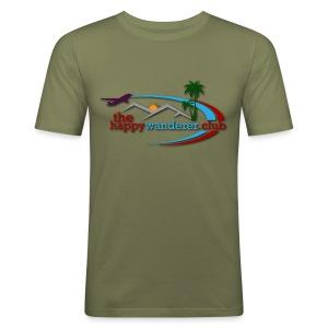 The Happy Wanderer Club Merchandise - Men's Slim Fit T-Shirt