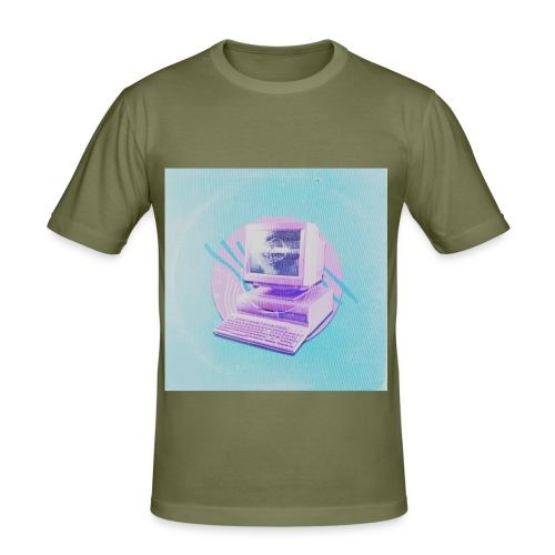 virtual - Männer Slim Fit T-Shirt