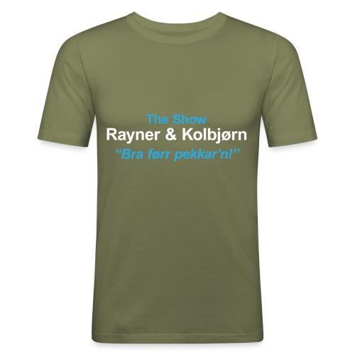 The Show R K - Slim Fit T-skjorte for menn