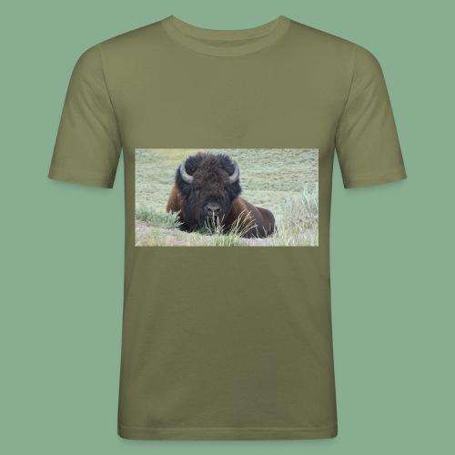 Bison - T-shirt près du corps Homme