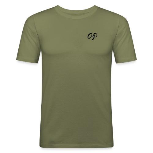 op black - Men's Slim Fit T-Shirt