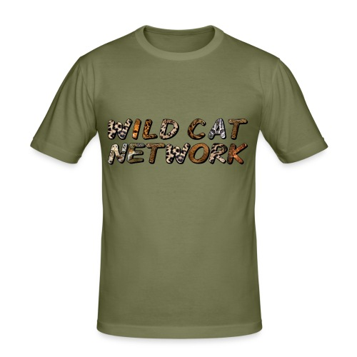 WildCatNetwork 1 - Men's Slim Fit T-Shirt