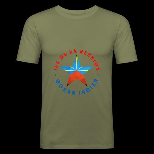 Collection Etoile Lo Mahavéli drapeau régional - T-shirt près du corps Homme
