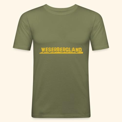 Hollywood Weserbergland   Goldene Zeiten - Männer Slim Fit T-Shirt