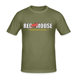 Red Moose logo - Slim Fit T-shirt herr