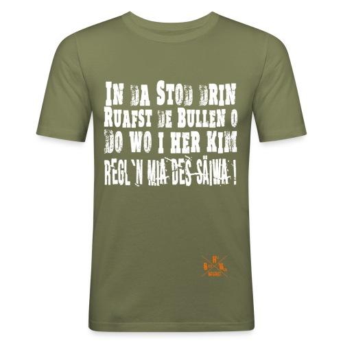 SaeiwaRegeln1 - Männer Slim Fit T-Shirt
