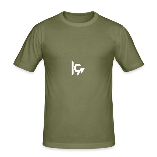 KEVQ_Logo_2016_wit - slim fit T-shirt