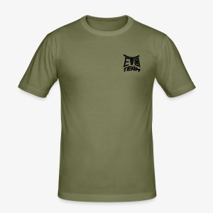 EvoTeam Petit Noir - Tee shirt près du corps Homme