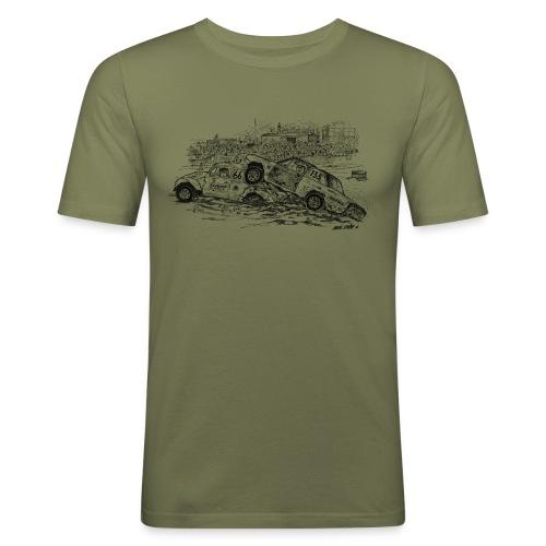 folkrace med Bettan - Slim Fit T-shirt herr