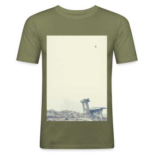 SolitudeThree - Men's Slim Fit T-Shirt